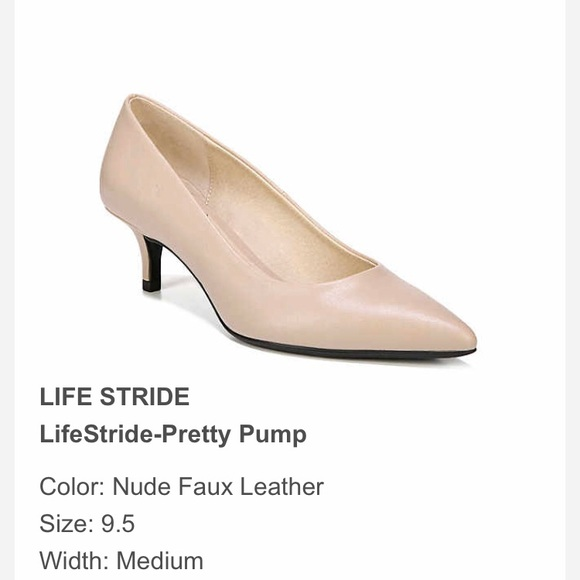 5a48d9758fc Brand New In Box Life Stride Nude Pump 9.5M